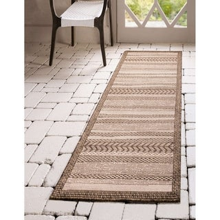 Link to Unique Loom Outdoor Lines Area Rug Similar Items in Casual Rugs