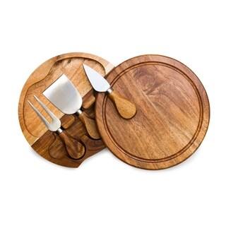 TOSCANA 'Acacia Brie' Cheese Board & Tools Set