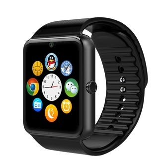 Full Touch Control Smart Watch Remote Phone Pedometer Call Reminder Bluetooth3.0 with SIM Card Slot
