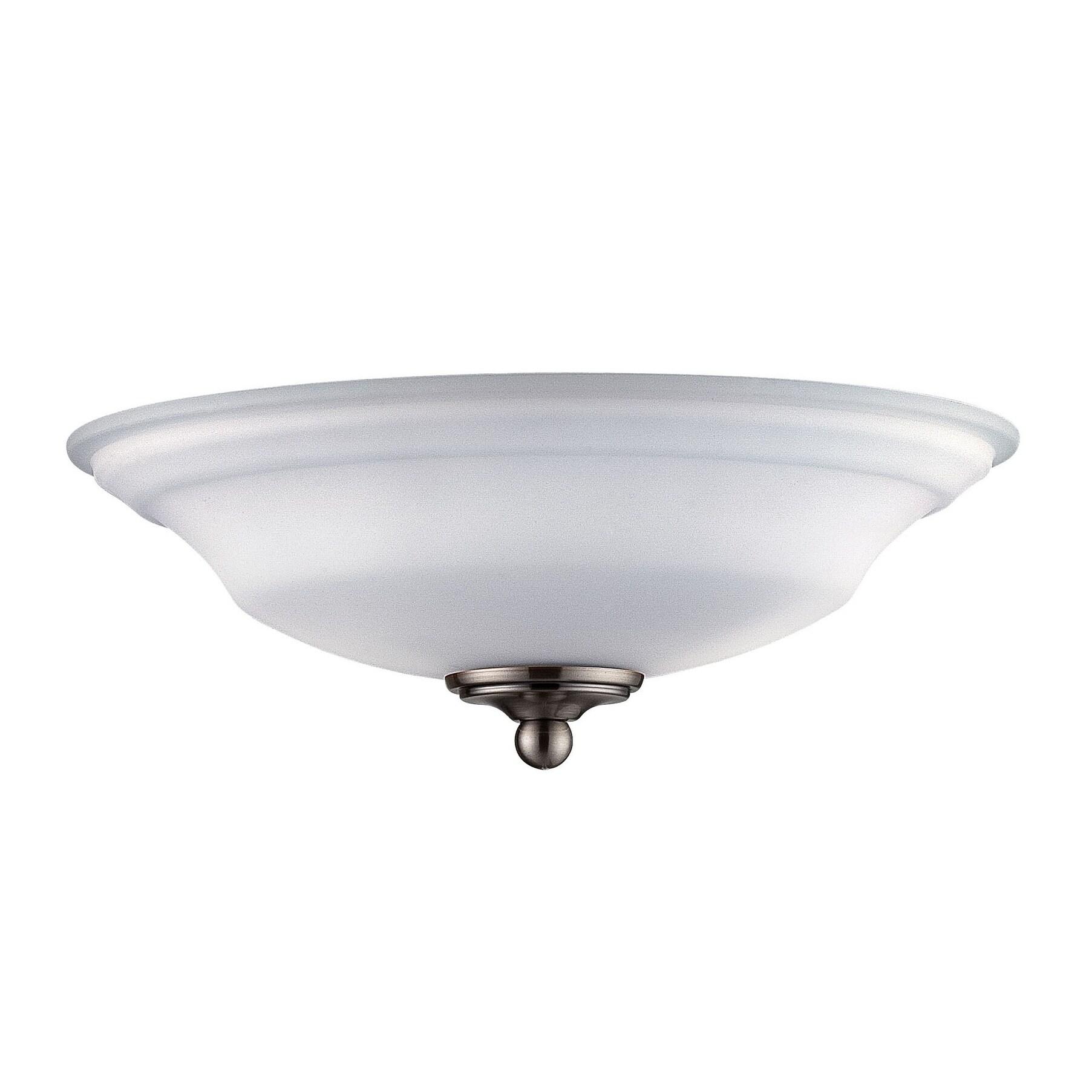 Savoy House Salon Fan Light Kit Brushed Nickel/Pewter (Me...