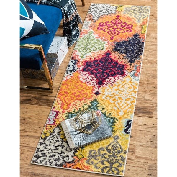Shop Unique Loom Roswell Estrella Rug 2 2 Quot X 6 7 Quot Runner