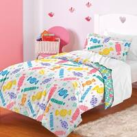 Dream Factory Candy 3-piece Comforter Set