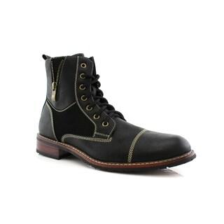 Ferro Aldo Andy MFA808561 Men's Combat Boots For Work or Casual Wear