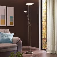 Eglo Baya 1 Floor Lamp With Adjustable Reading Lamp
