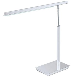 Eglo Pan LED Desk Lamp with Chrome Finish