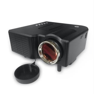 Professional 1080P Full HD Mini Projector Home Theater Cinema AV VGA USB HDMI