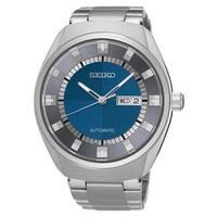 Seiko Men's Recraft Automatic SNKN73 Stainless Steel Blue Dial Watch