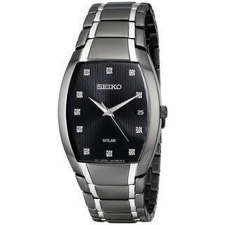 Seiko Men's Solar SNE335 Black Diamond Accent Dress Watch https://ak1.ostkcdn.com/images/products/17682099/P23890243.jpg?impolicy=medium