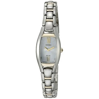 Seiko Core Women's Solar SUP318 Two-Tone Watch