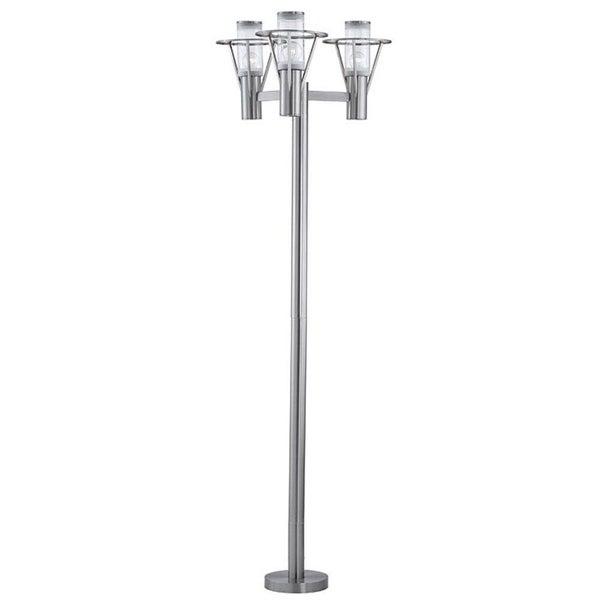 Eglo Belfast Outdoor Lamp Post with Stainless Steel Finish