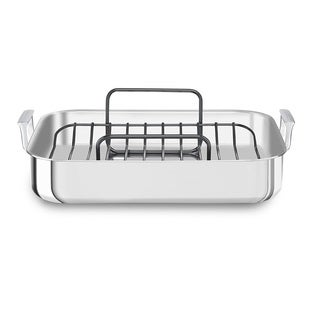 KitchenAid 18 Tri-Ply Stainless Steel Roaster