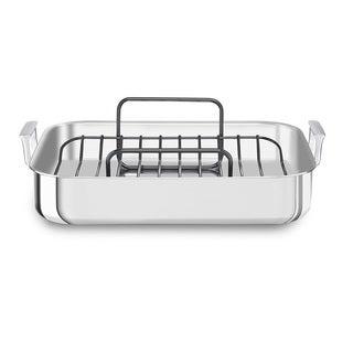 KitchenAid 18 Tri-Ply Stainless Steel Roaster