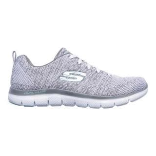 Skechers Womens Flex Appeal 2.0 High Energy Trainers (White