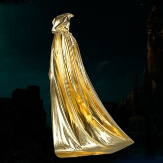 Halloween Cape Cospaly Costumes Bright Cloth Cloak Death Vampires Cloak