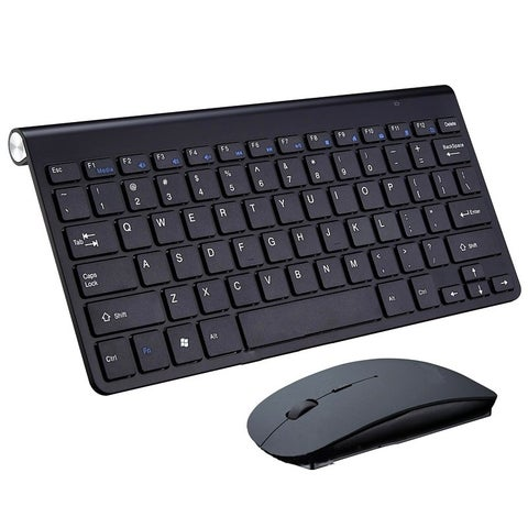 2.4G Wireless Keyboard MINI Waterproof X Structure Compact Keyboard mouse