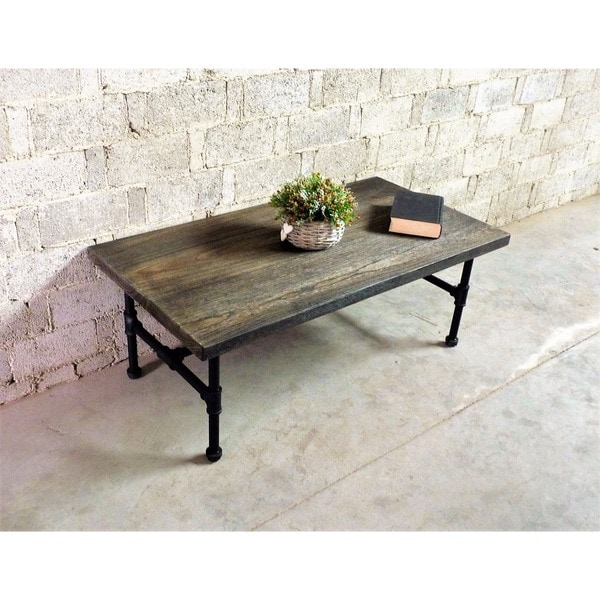 Corvallis Industrial Metal With Reclaimed Aged Wood Finish