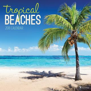 2018 Tropical Beaches Wall Calendar