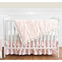 My Baby Sam Olivia Rose 3 Piece Crib Bedding Set Free