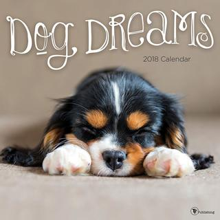 2018 Dog Dreams Wall Calendar