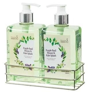 Freida and Joe Purple Basil Flower & Kale Splash 36-ounce Hand Wash (Pack of 2)