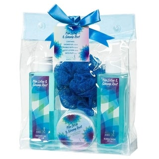Nice lotus and ginseng root - Blue