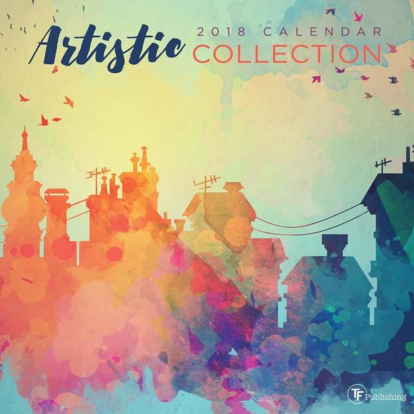 2018 Artistic Collection Wall Calendar - Free Shipping On Orders ...