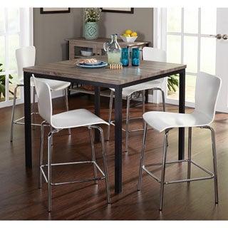 Simple Living 5-piece Pisa Counter Height Set