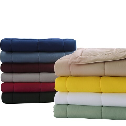 Stayclean Down Alternative Blanket With Microfiber Cover and Water and Stain Resistance