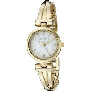 Anne Klein Gold-Tone Stainless Steel Ladies Watch AK-1170MPGB