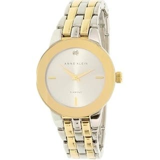 Anne Klein Two-Tone Alloy Ladies Watch AK-1931SVTT|https://ak1.ostkcdn.com/images/products/17695750/P23902472.jpg?impolicy=medium