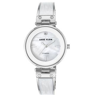 Anne Klein Silver-Tone Alloy Ladies Watch AK-2513WTSV|https://ak1.ostkcdn.com/images/products/17695755/P23902476.jpg?impolicy=medium