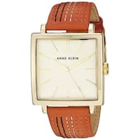 Anne Klein Leather Ladies Watch AK-2740CHOR