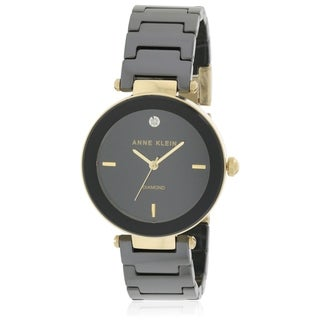 Anne Klein Ceramic Ladies Watch AK-1018BKBK|https://ak1.ostkcdn.com/images/products/17695789/P23902466.jpg?_ostk_perf_=percv&impolicy=medium