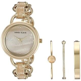 Anne Klein Gold-Tone Alloy Ladies Watch AK-2750LPST