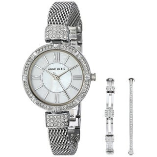 Anne Klein Stainless Steel Ladies Watch AK-2845SVST