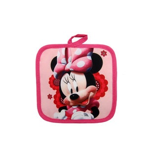 Disney Junior Minnie Mouse 100% Polyester Pink Pot Holder