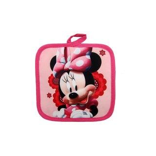 Disney Junior Minnie Mouse 100% Polyester Pink Pot Holder