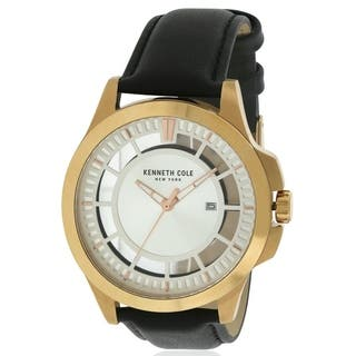 Kenneth Cole Leather male Watch 10027460 https://ak1.ostkcdn.com/images/products/17696089/P23902830.jpg?impolicy=medium