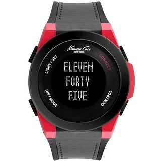 Kenneth Cole New York Connect Smart Tech Bluetooth Silicone male Watch 10022807