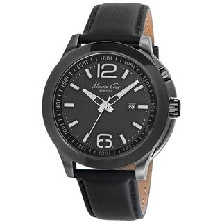 Kenneth Cole New York Leather Strap male Watch 10022558