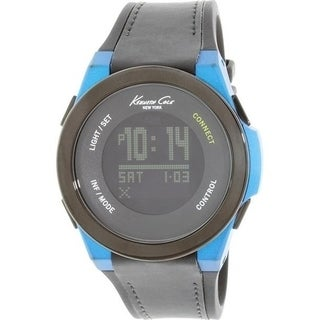 Kenneth Cole New York Connect Smart Tech Bluetooth Silicone male Watch