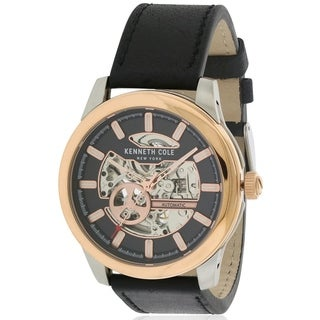 Kenneth Cole Automatic Leather male Watch 10031275