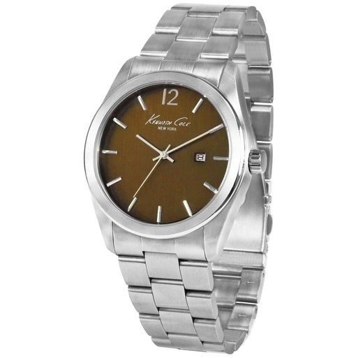 Kenneth Cole New York male Watch KC3884, Men's, Brown, Si...