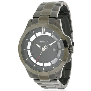 Kenneth Cole Gunmetal Stainless Steel male Watch