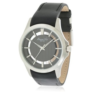 Kenneth Cole Leather male Watch 10022286