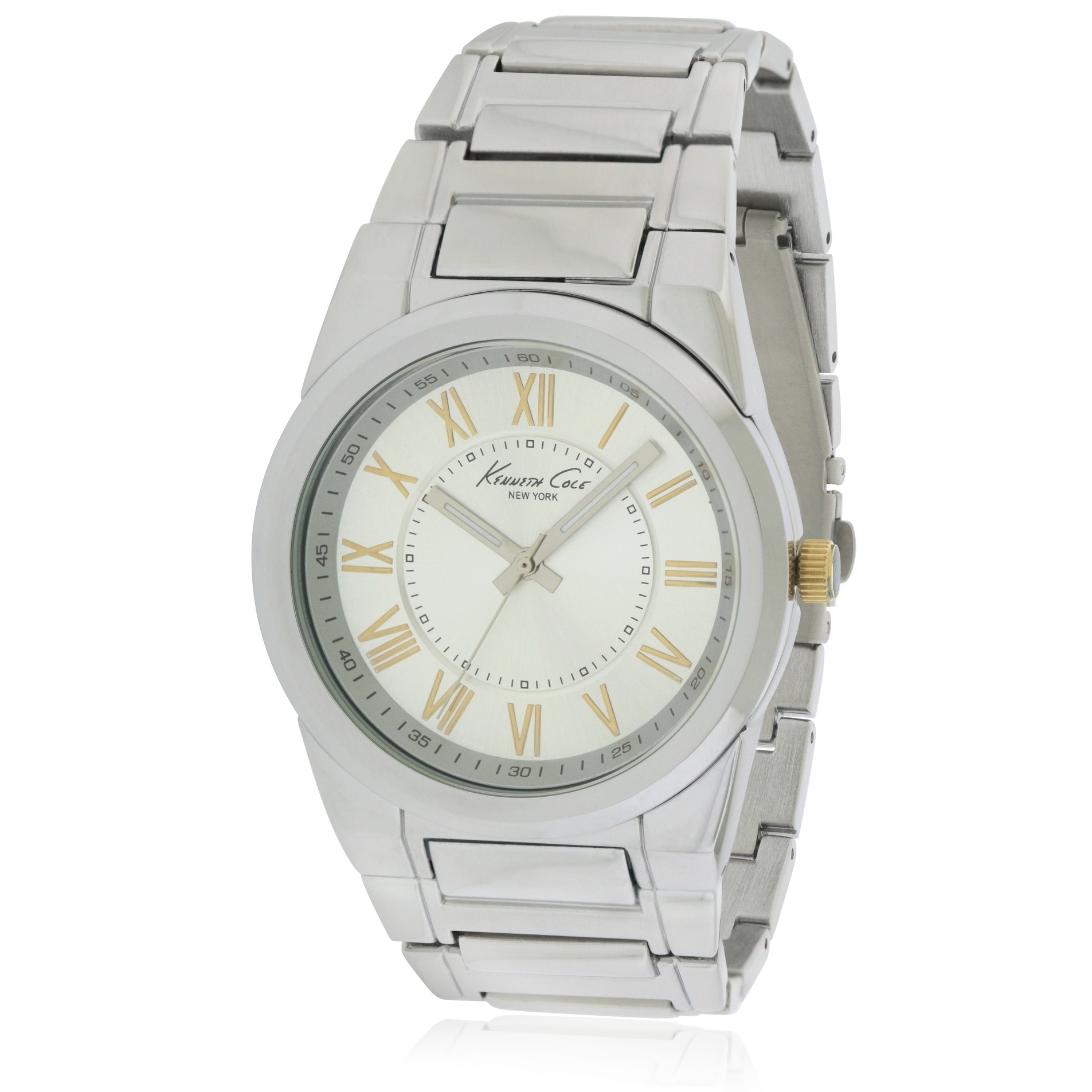 Kenneth Cole New York male Watch KCW3032, Men's, Silver, ...