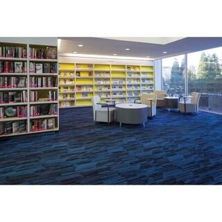 "Mohawk Littleton 12"" x 36"" Carpet tile plank in SUBTLE"