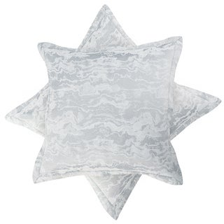 Sloane Cotton Blend Jacquard Weave Euro Shams (Set of 2)