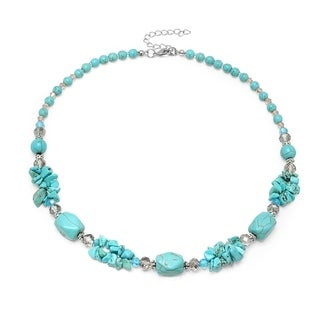 Piatella Ladies Crystal Necklace in 2 Colors