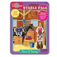 T.S. Shure Stable Pals Dress-Ups Magnetic Tin Playset